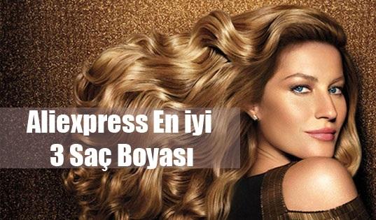 Aliexpress En iyi 3 Saç Boyası